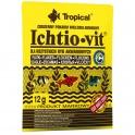 Tropical Ichtio-vit universalus pašaras žuvims 12g