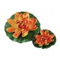 Water Lily, oranžinė 20cm