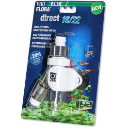 JBL ProFlora Direct CO2 prijungimo prie išorinio filtro blokas 16/22