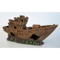 Laivas Shiffswrack braun, 29 cm