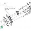 JBL UV-C 72W/110W Tarpinė kvarciniam stiklui