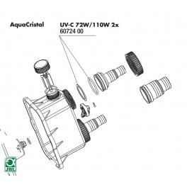 JBL UV-C 72W/110W tarpinė (2vnt.)