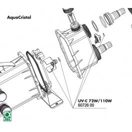 JBL UV-C 72W/110W bypass-turbo switch