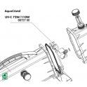 JBL UV-C 72W/110W bypass cover